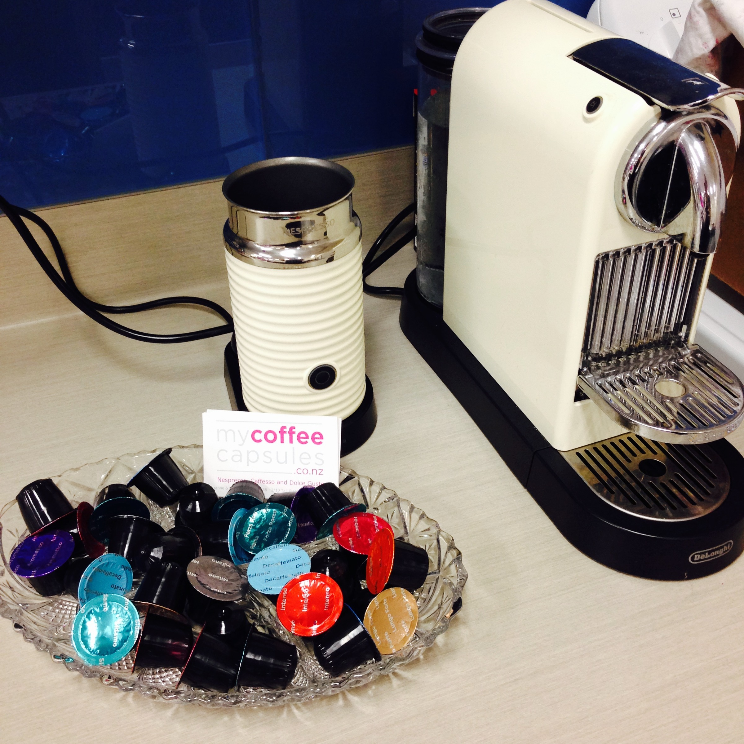 Where to buy capsules for your Nespresso Machine in New ...